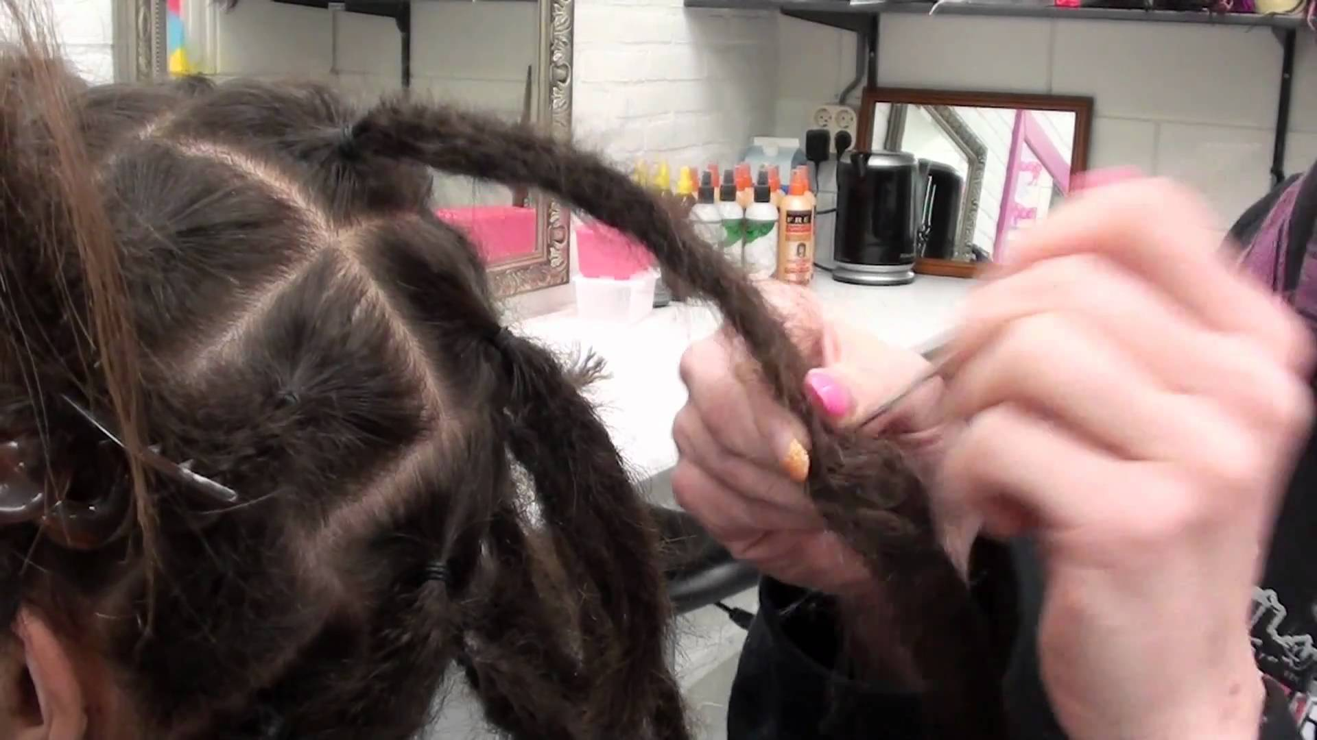 Dreadextensions Tutorial How To Make Your Own Dreads Longer
