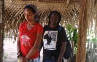Granddaughter of Bob Marley visits Pikin Slee Suriname