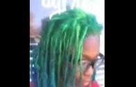 Haircolor  Dye On Sister Locs, Dreads  No Tutorial