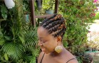 First Professional Locs Hairstyle