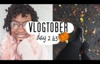 Party Fail, Bananas & Curly Hair l Vlogtober Day 2