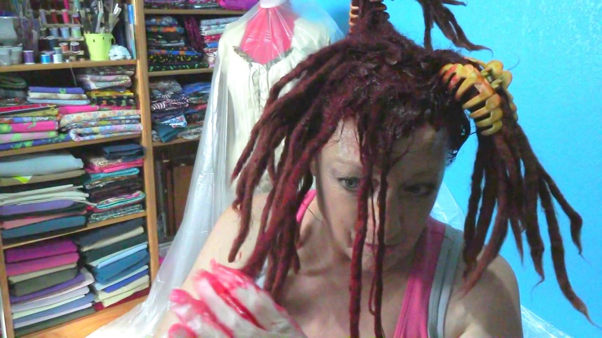 Copy of Coloring my Dreads, with better lighting…. | Dread ...
