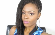 Loc Tutorial: Side Ponytail with a Sweeping Bang/Jungle Barbie