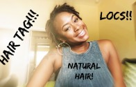Braid Out on Baby Locs!