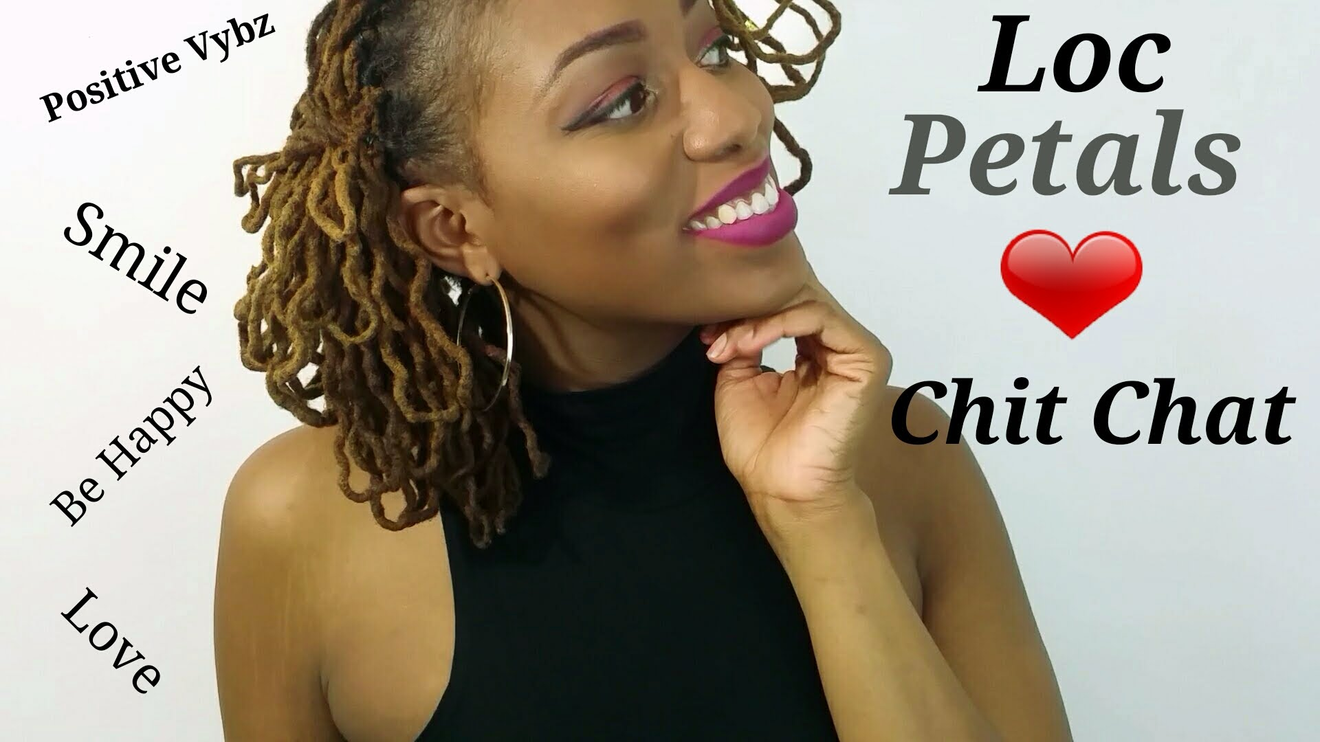 Loc Petals On Crinkly Locs Chit Chat Dread Videos