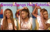 Swoop Bangs Hair Tutorial | Dreadlocks | FashionPrincessJ