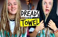 HOW I DRY MY DREADLOCKS ~ SUPER SNAZZY TOWEL FOR DREADLOCKS!